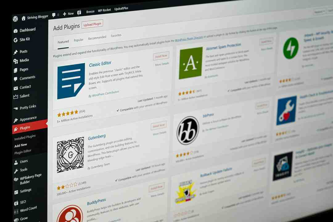 Comment ouvrir wordpress